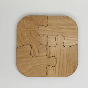 Andrew Hemus Puzzle coaster 4 pieces